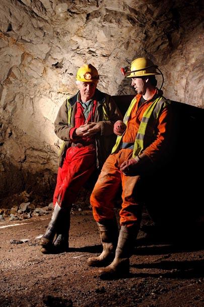 South Crofty Mine.