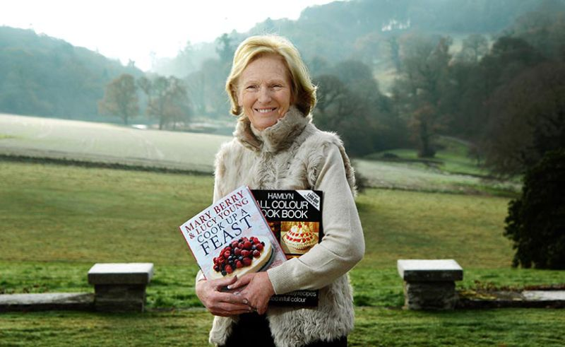 Food writer Mary Berry