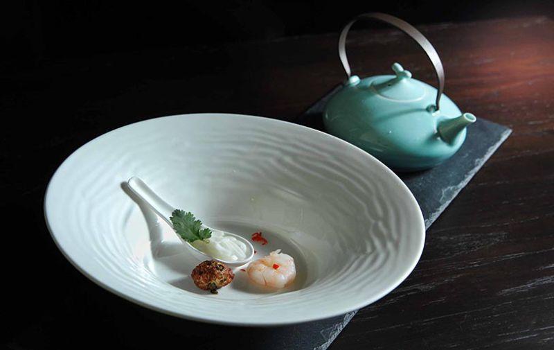 Tom Kha Gai (Thai soup).