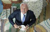 Former national newsreader Martyn Lewis .