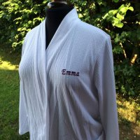 personalised embroidery - front detail
