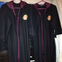 specially commisioned Harry Potter dressing up cloaks