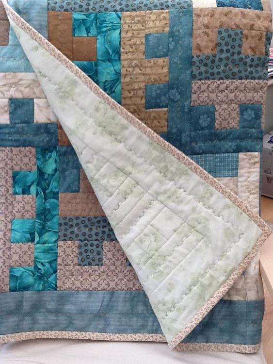 key design patchwork quilt