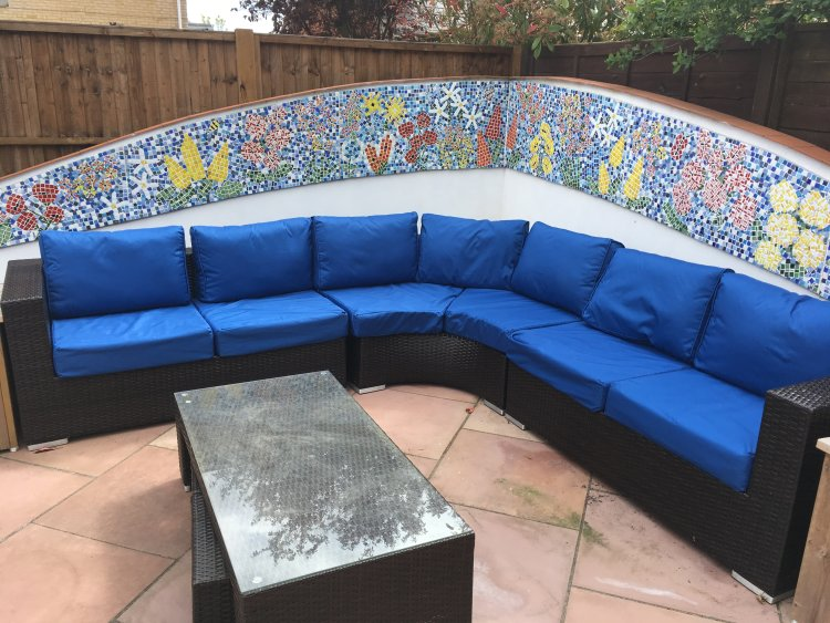New covers for patio cushions