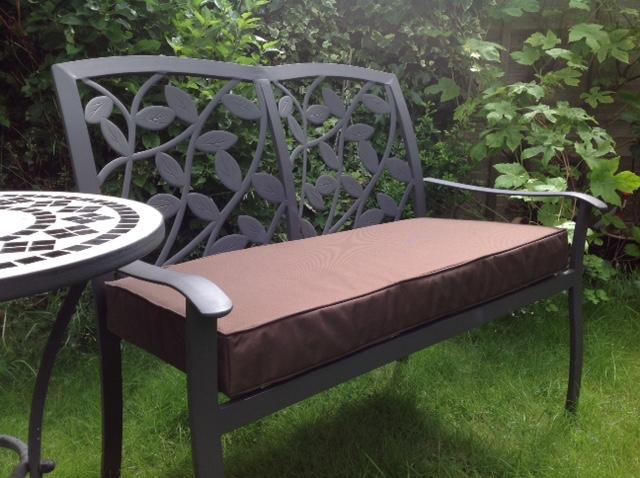 new cordura cushion for outdoor bench