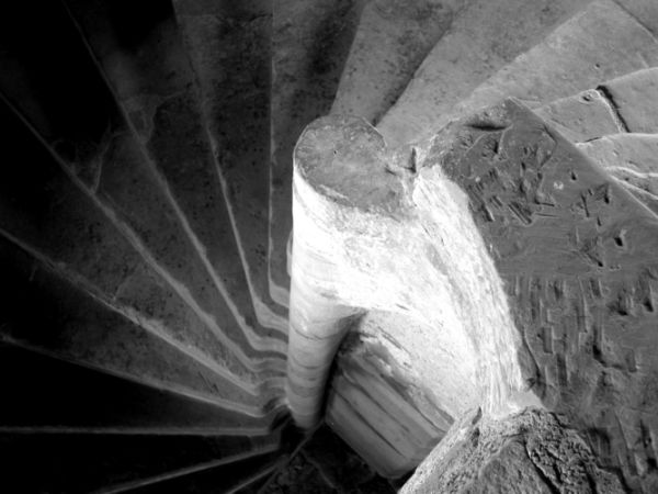Staircase in Elcho Castle