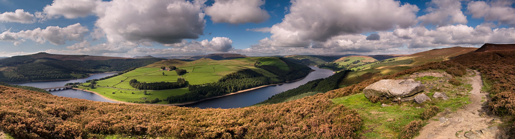 Ladybower from Derwent Edge