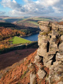 Ladybower from Bamford Edge