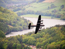 Lancaster over Ladybower