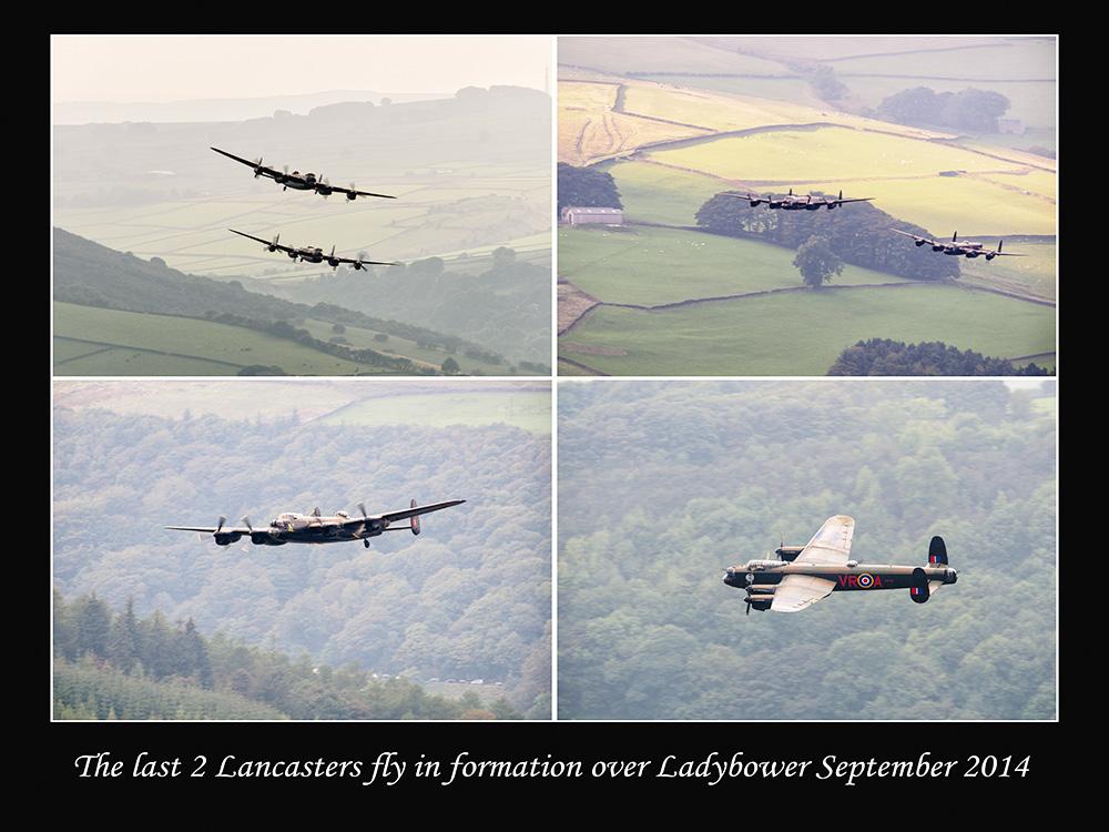 Lancaster's over Derwent