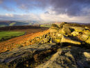 Morning light over Stanage