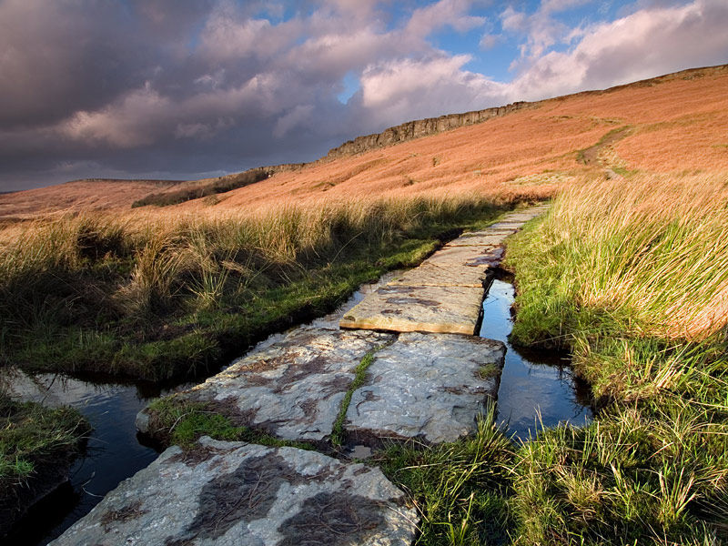 Pathway to Stanage