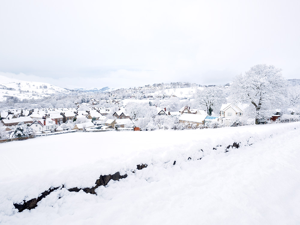Hathersage in winter
