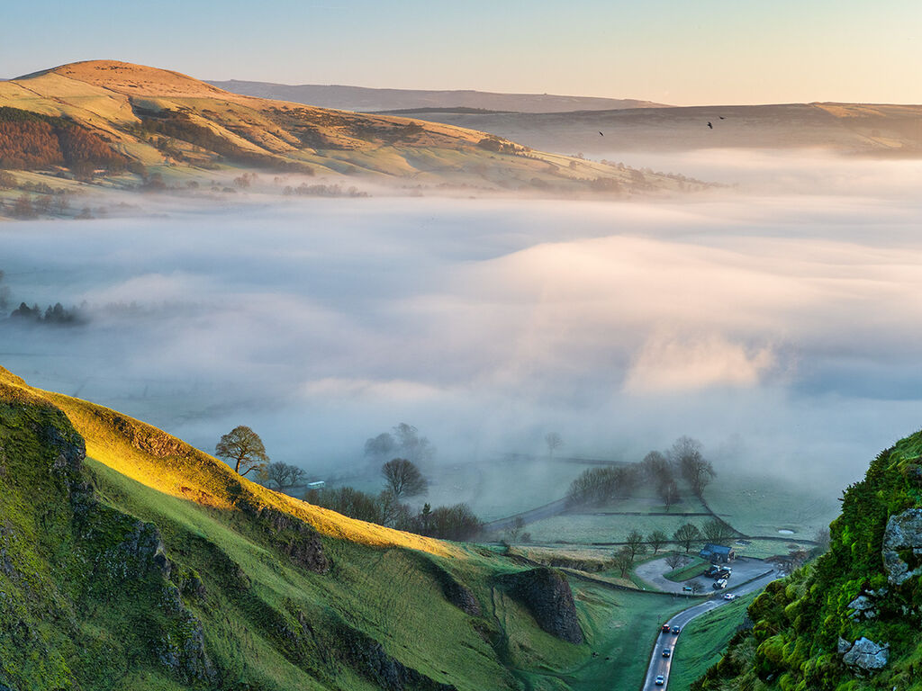 Morning on Winnats Pass