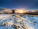 Winter sunset at Magpie mine