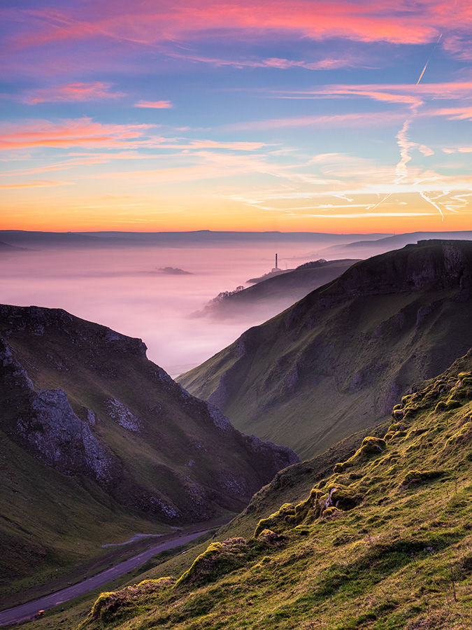 Dawn on Winnats Pass