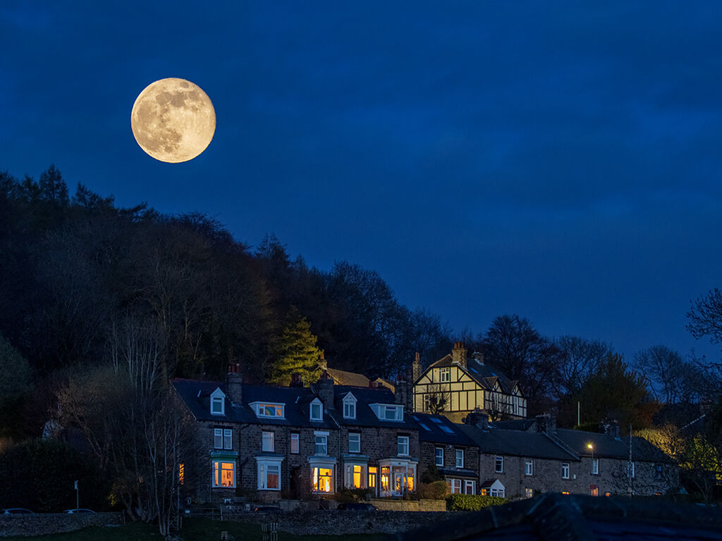 Super Moon over Hathersage