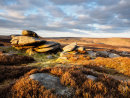 Evening light on Over Owler Tor
