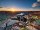 Spring sunset over Ladybower