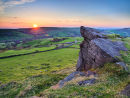 Sunset from Windgather rocks