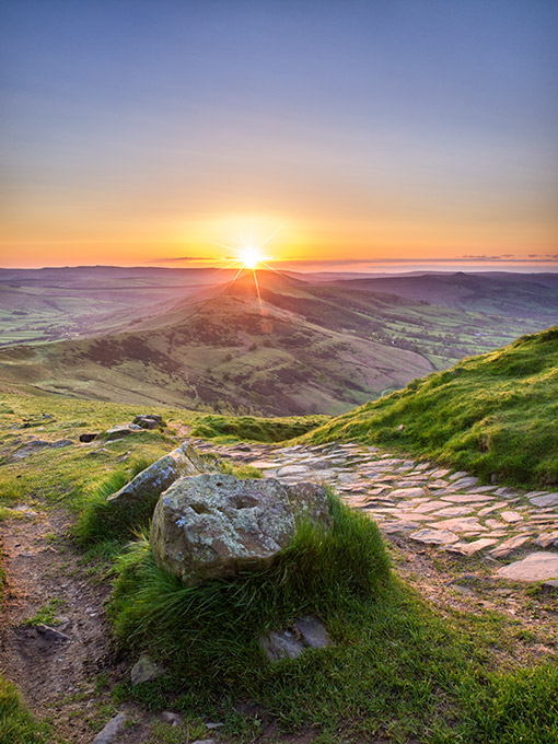 May sunrise from Mam Tor