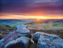 Sunset from Over Owler Tor