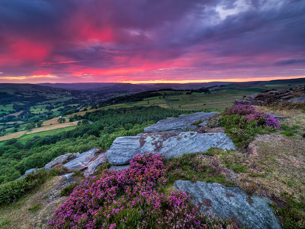 Afterglow from Millstone Edge