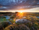 Summer sunrise from Over Owler Tor