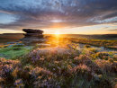Sunrise at Over Owler Tor