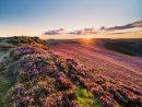 Summer sunset on Win Hill
