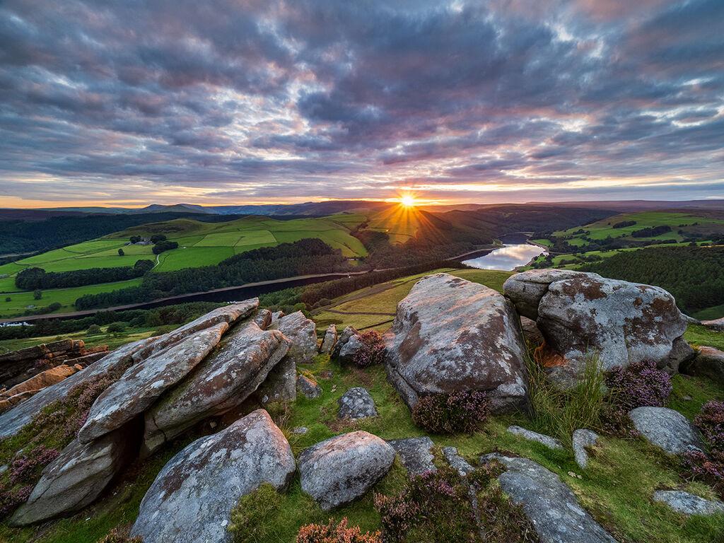 Whinstone Lee sunset