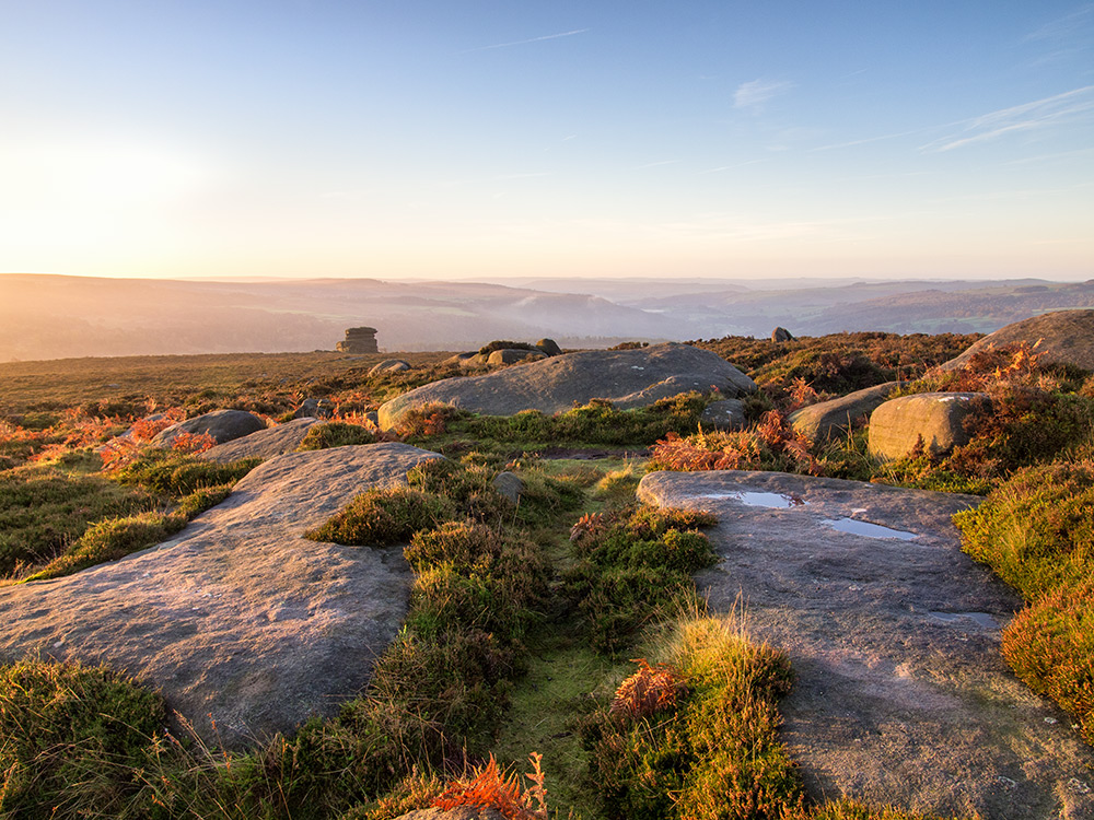 Morning light on Owler Moor