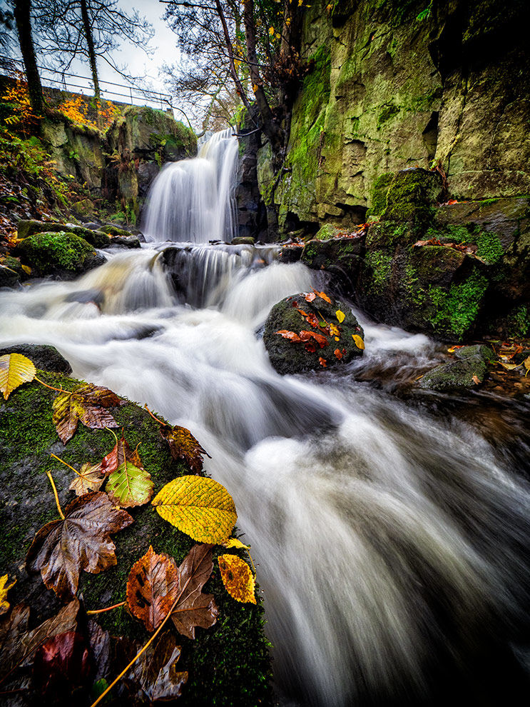 Autumn in Lumsdale
