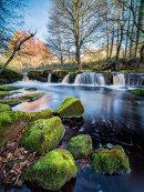 Yorkshire Bridge waterfall