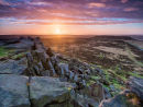 Sunrise at Upper Stanage