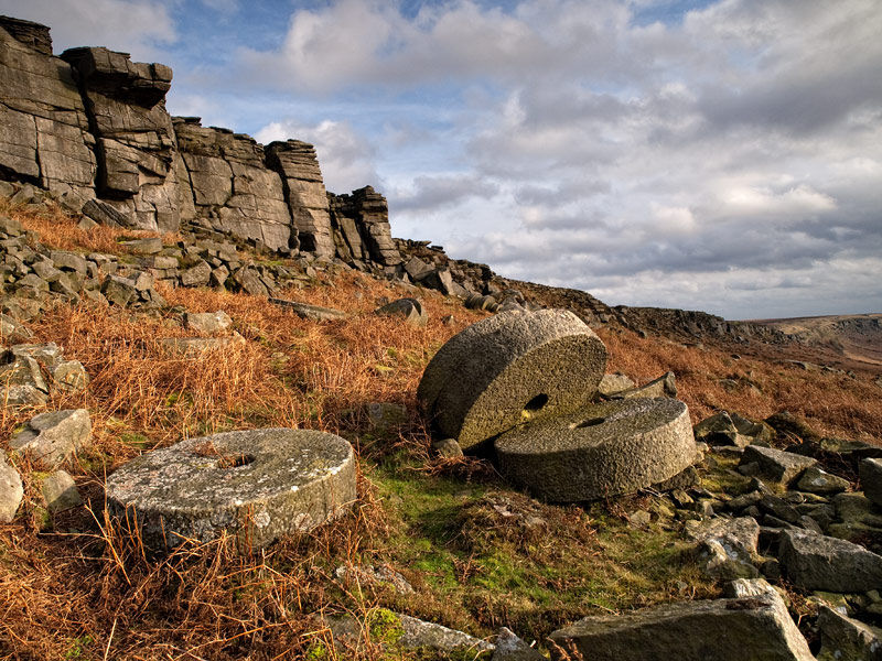 Stanage Millstones