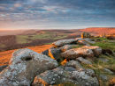 Sunset over Stanage