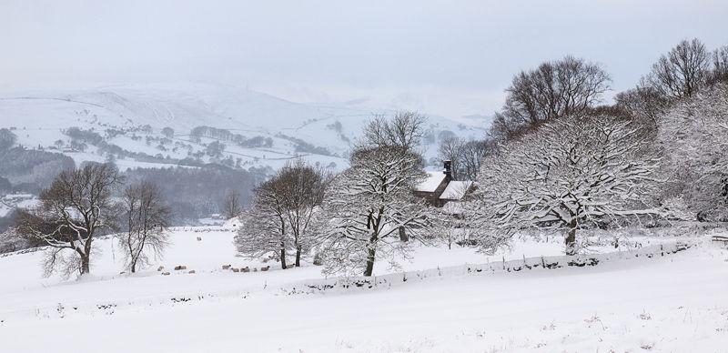 Hope Valley in winter