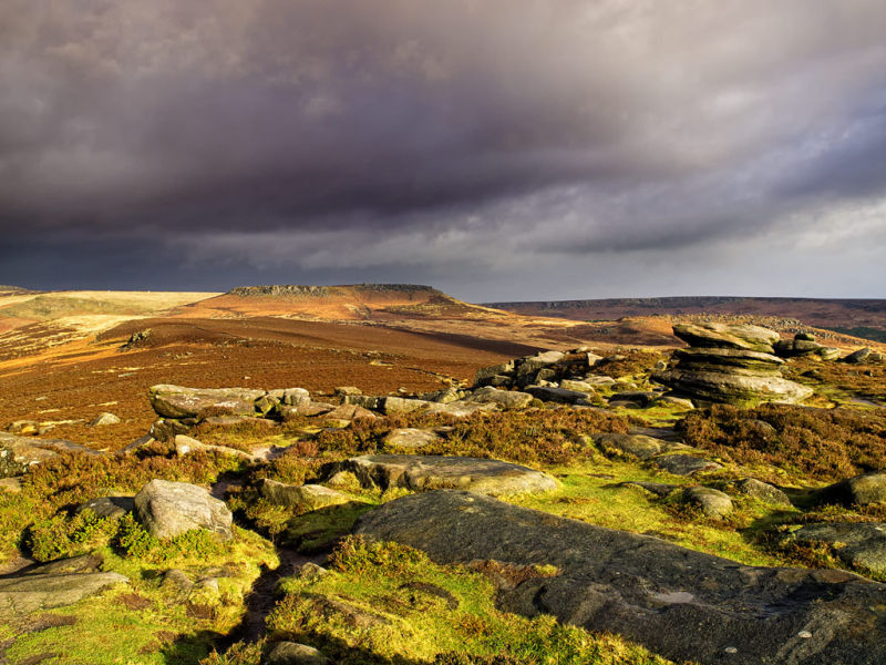 Storm over Over Owler Tor