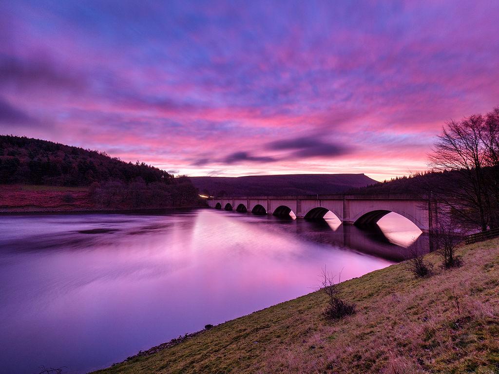 Pre dawn light over Ladybower