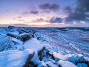 Winter dawn at Higger Tor