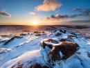 Winter sunrise on Higger