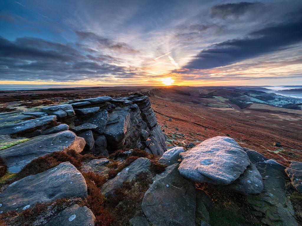 Winter sunrise on High Neb
