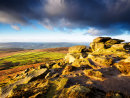 Morning light on Stanage