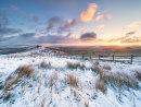Winter sunrise on Mam Tor
