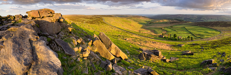 Upper Stanage and Overstones farm