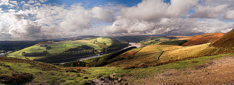 Ladybower and the Derwent Valley