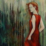 Girl in the Orange Dress