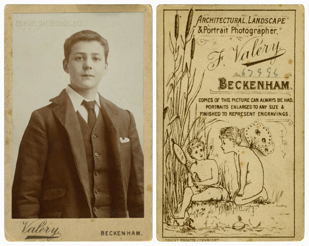 ERNEST JACK TREE c.1900