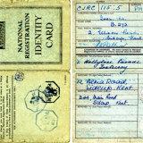 IVOR PANKHURST ID CARD